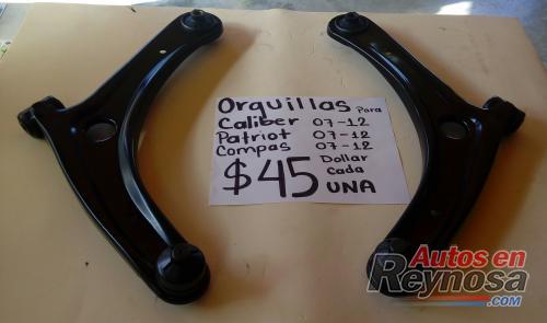 ORQUILLAS NUEVAS DE CALIBER ,  JEEP  COMPASS  Y  JEEP  PATRIOT  07/12