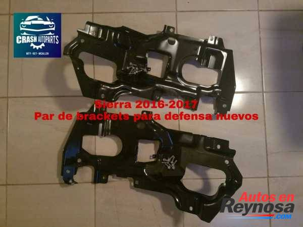 Sierra 2016-2017 Par de brackets para defensa