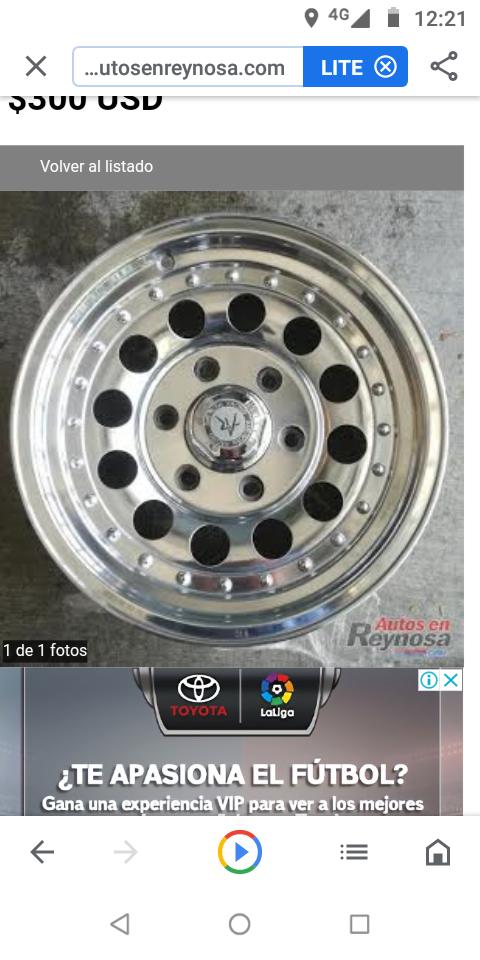 Rines para Chevrolet colorado,Silverado,Tahoe,Toyota pickup