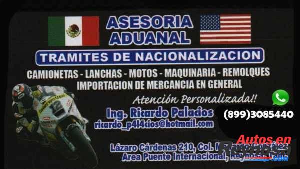 LEGALIZACION (NACIONALIZACION Y REGULARIZACION DE AUTOS USADOS)
