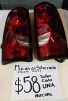 MICAS NUEVAS  DE SILVERADO  2004/2007