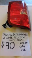 MICAS  NUEVAS  DE  SILVERADO  O  GMC  SIERRA  07  /  13
