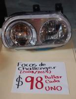 FOCOS NUEVOS DE CHALLENGER 08/14 AMBOS  LADOS