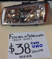 FOCOS  NUEVOS  DE  SILVERADO  04/07 AMBOS  LADOS