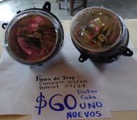 FOCOS  DE  JEEP  COMPASS 07/10 Y JEEP  PATRIOT  07/17
