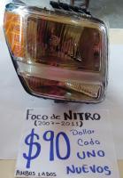 FOCOS  NUEVOS  DE  NITRO  07/11 AMBOS  LADOS