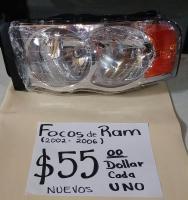 FOCOS  NUEVOS  DE  RAM  02  /  06  AMBOS  LADOS