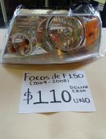 FOCOS  NUEVOS  DE  F150  04/08 AMBOS  LADOS