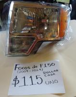 FOCOS  NUEVOS  DE  F150  09/14 AMBOS  LADOS