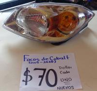 FOCOS  NUEVOS  DE  COBALT  05/10 AMBOS  LADOS