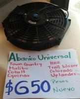 ABANICO  UNIVERSAL  TOWN COUNTRY,MALIBU,COBALT,EQUINOX,HHR,COLORADO