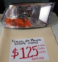 FOCOS  NUEVOS  DE  RAM  09/15 AMBOS  LADOS