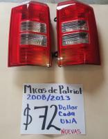 MICAS  NUEVAS  DE  PATRIOT  08  /  13 AMBOS  LADOS
