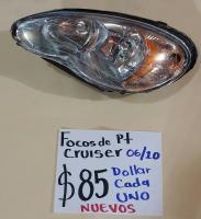 FOCOS  NUEVOS  DE  PT  CRUISER  06/10 AMBOS  LADOS
