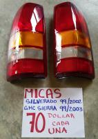 MICAS NUEVAS PARA SILVERADO 99/02   GMC SIERRA  99/03 AMBOS  LADOS