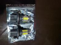 Faros de LED de 9 pulgadas 54 watts cada uno combinacion Spot y Flood