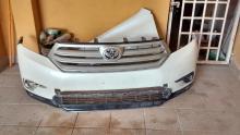 Vendo Frente original de Toyota Highlander 2010.