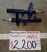 AMORTIGUADORES DE FORD FOCUS DELANTEROS 06/11 PAR