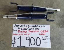 AMORTIGUADORES DELANTEROS  DE DODGE DAKOTA 05/09 NUEVOS PAR