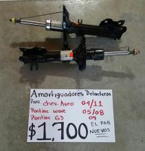AMORTIGUADORES DELANTEROS DE CHEVROLET. AVEO 04/11 PAR NUEVOS