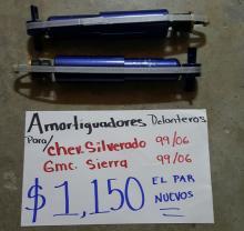 AMORTIGUADORES DELANTEROS DE CHEV.SILVERADO 99/06 NUEVOS