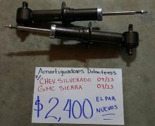 AMORTIGUADORES DELANTEROS DE CHEV.SILVERADO 07/13 NUEVOS