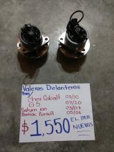 BALEROS NUEVOS DE COBALT 05/10