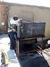 Mantenimiento, instalacion de Minisplit en Reynosa