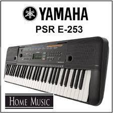 PIANO YAMAHA PSR 253 5 OCTAVAS