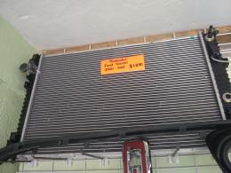 Partes de colisión y variedad de radiadores