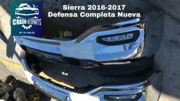 Sierra 2016 - 2017 Defensas Originales Nuevas Completas