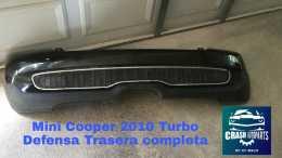 Mini Cooper 2010 Turbo Defensa Trasera Completa