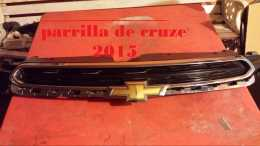 parrilla y led de cruze 2015