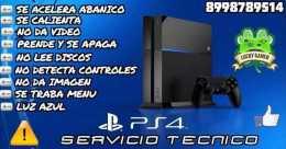 SERVICIO TECNICO ESPECIAliZADO PS4 REPARACION