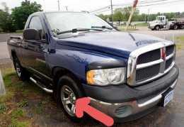 Centro de rin de Dodge Ram 03-09