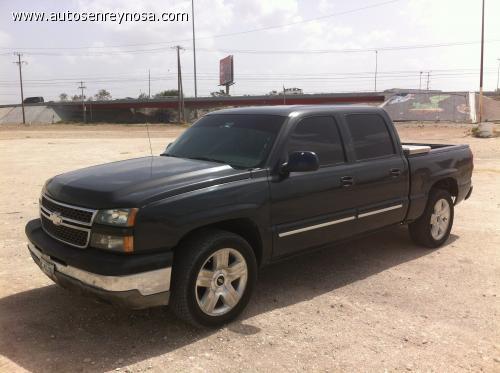 Chevrolet silverado ls 2005 silverado 05 doble cabina m x posible auto a cuenta en reynosa