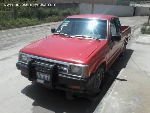 mazda b series pickup 1987 camioneta fronterisa mazda pick up en buenas condiciones. Black Bedroom Furniture Sets. Home Design Ideas