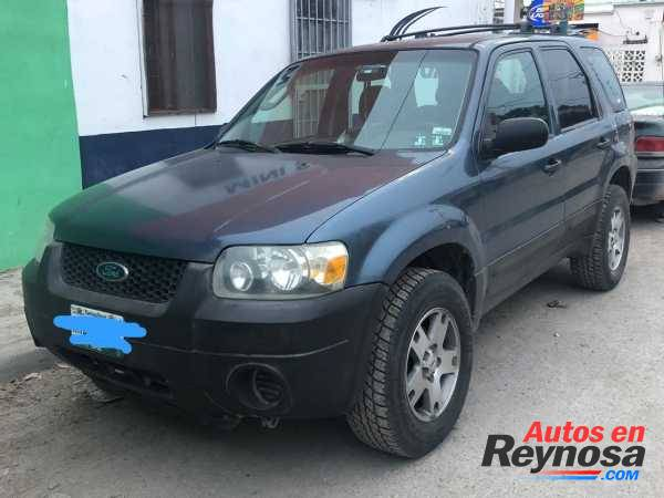 FORD ESCAPE 2005   MEXICANA   4 CILINDROS