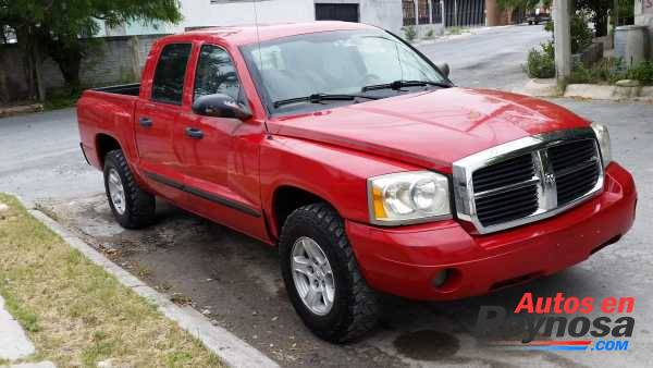 dodge dakota 4 puertas mexicana 2005