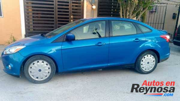 Ford Focus 2012, color azul, Aut