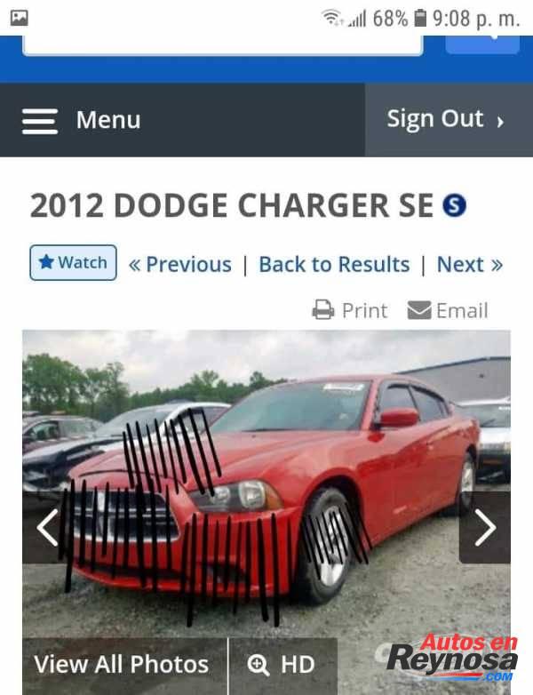SE VENDEN PARTES DE DODGE CHARGER 2011-2014 BARATAS