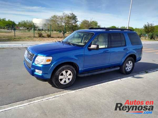 Ford Explorer 2010, 4x4, Mexicana, 3 filas.