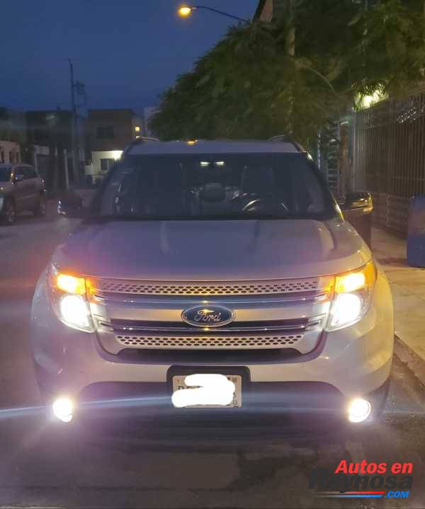 Ford Explorer XLT 2013 MEXICANA 100%