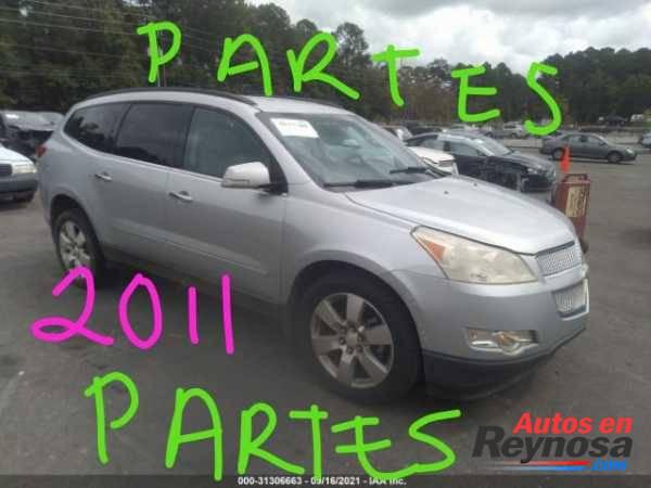 CHEVROLET TRAVERSE 2011 PARTES PARTES PARTES