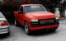 Chevrolet Silverado 2001 Americano