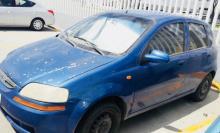 Aveo hatchback aire acondicionado motor y transmisión sin problema