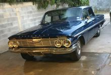 Chevrolet Impala Bel air 1961 Americano, 8 cil Automatica