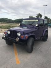 Jeep Wrangler  2003, 6 cil trans. Automatica
