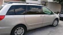 Toyota Sienna  2007 Mexicana 6 cil trans. Automatica