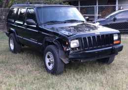 Jeep Cherokee  2001 6 cil trans. Automatica